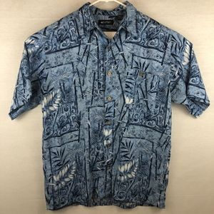 Puritan Hawaiian Button Down Shirt -M